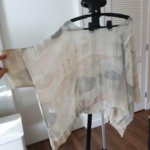 Silky chiffon blouse